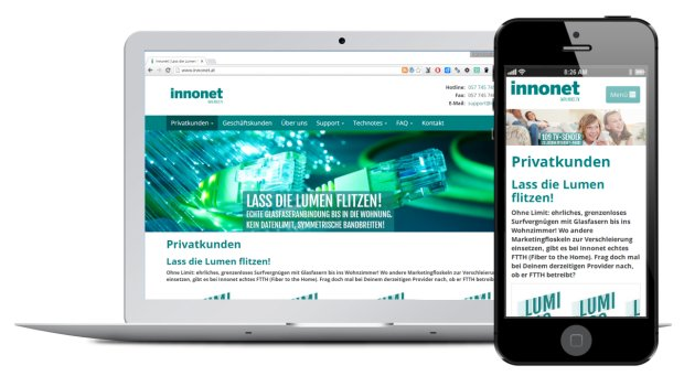 Website Design innonet.at