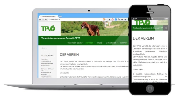 Website Design tpvoe.at
